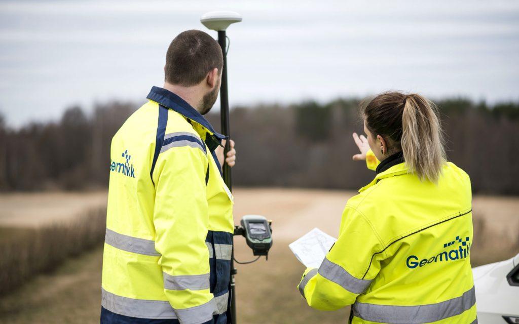 Geomatikk är Sveriges främsta leverantör av ledningsanvisning.