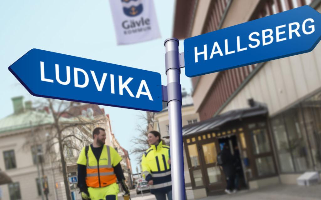 Hallsberg och Ludvika inleder samarbete med Geomatikk om kommunala grävtillstånd