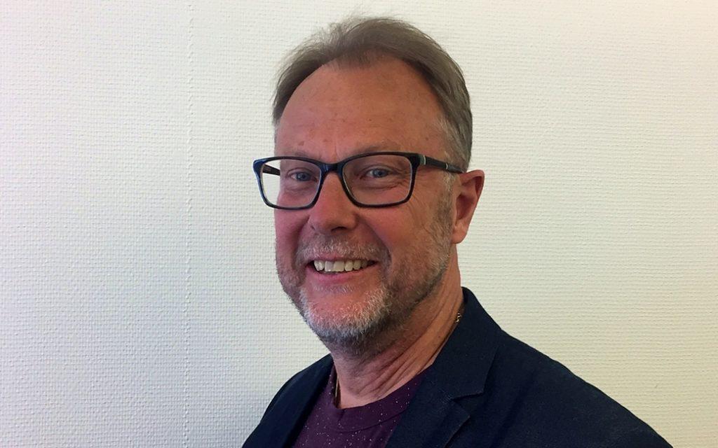 Göran Axelsson är Geomatikk Sveriges säkerhetschef