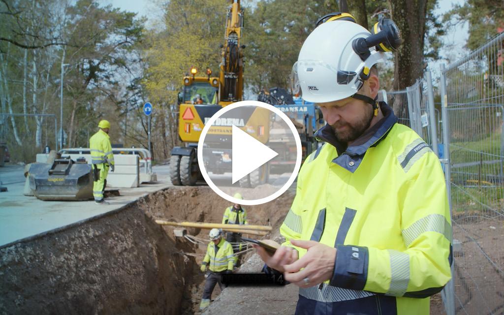 GeoDig en app för gräventreprenörer